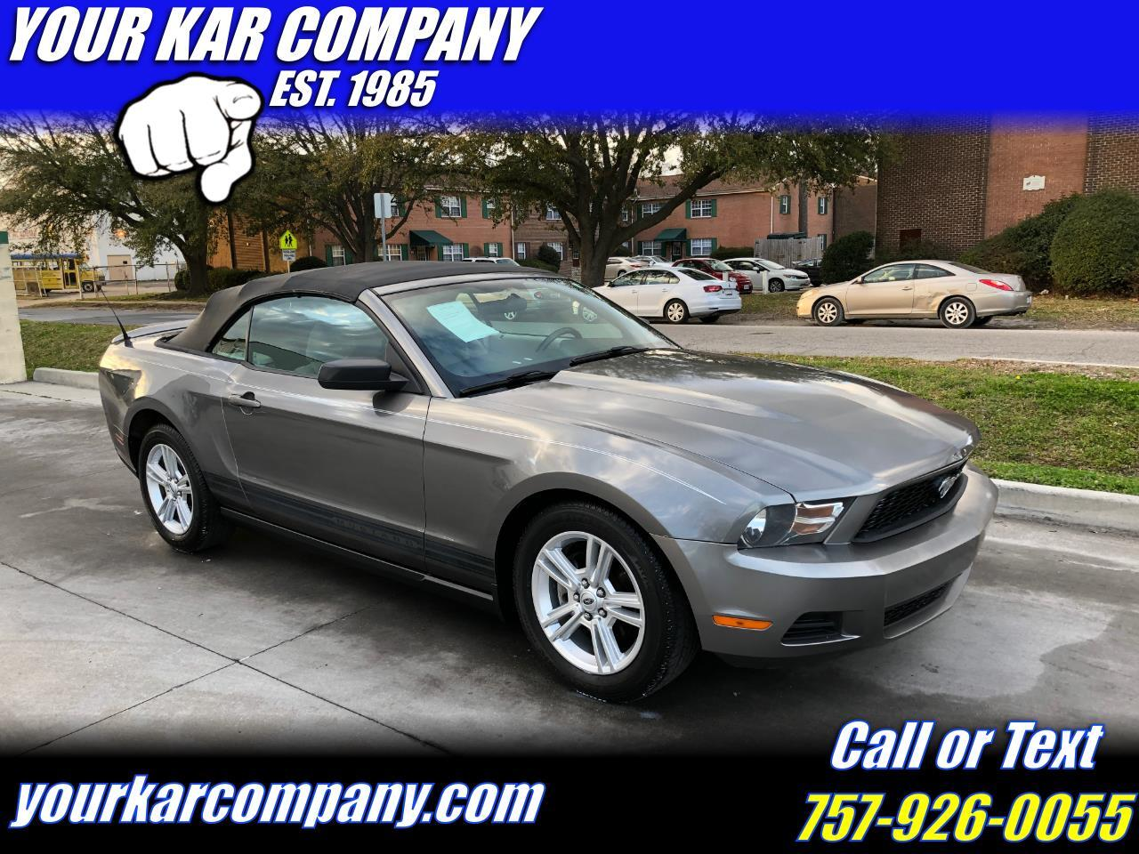 Ford Mustang 2dr Convertible 2010