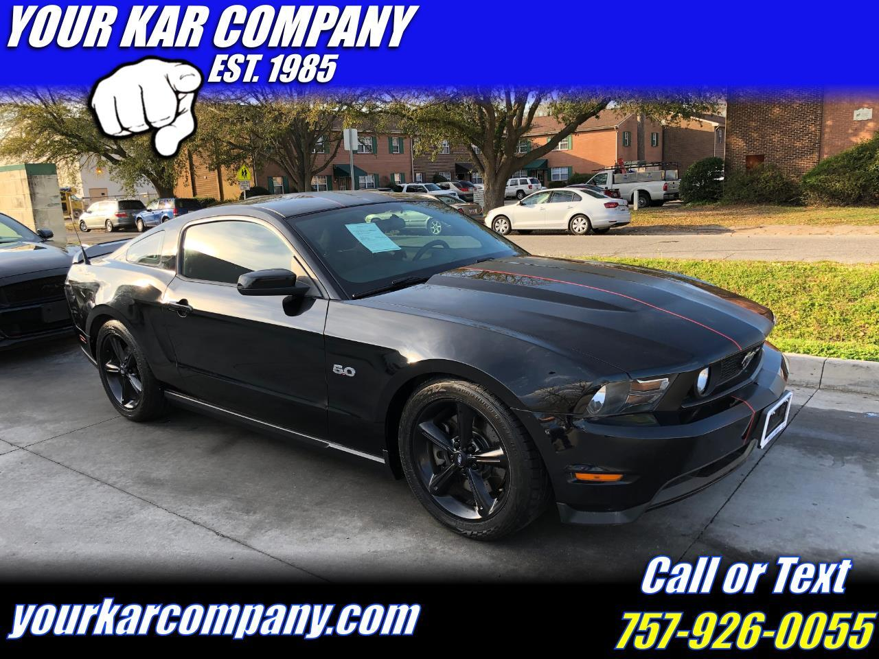 Ford Mustang 2dr Cpe GT 2012