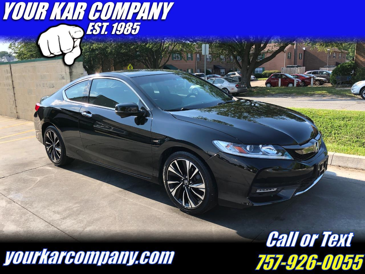 Honda Accord Coupe EX CVT 2017