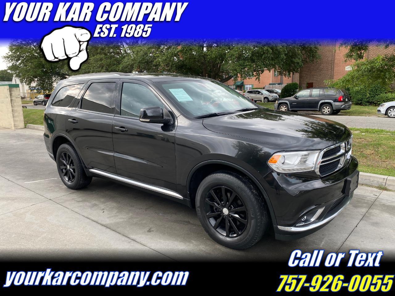 Dodge Durango AWD 4dr Limited 2015