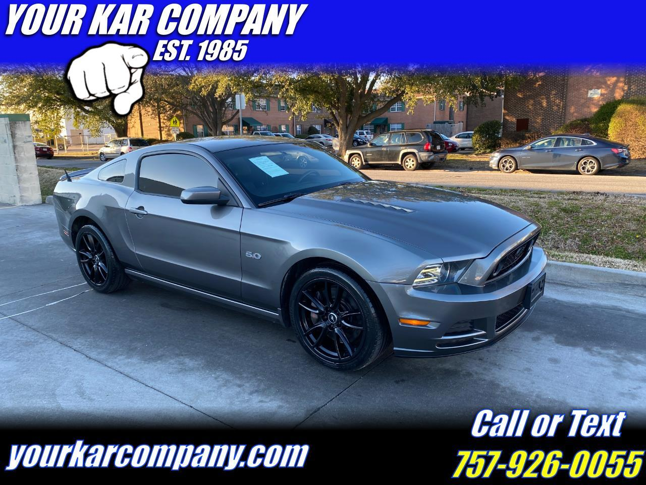 Ford Mustang 2dr Cpe GT Premium 2013