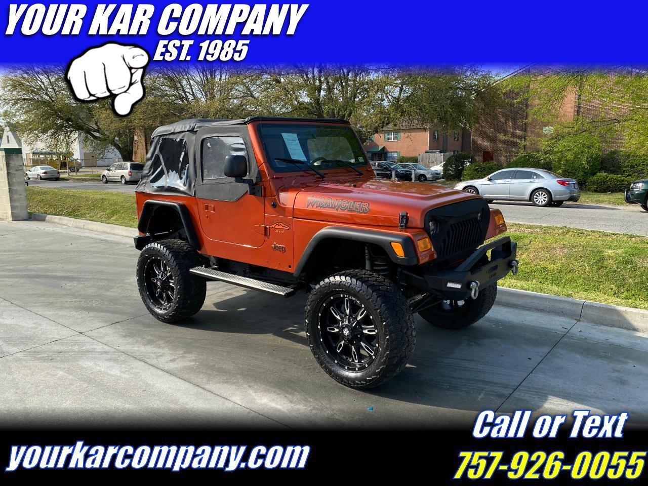 Jeep Wrangler 4WD 2dr X 2006