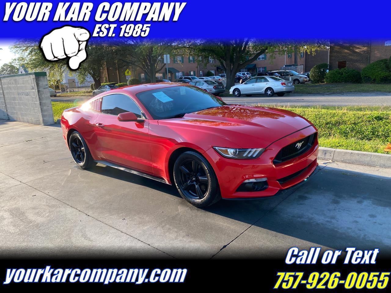 Ford Mustang 2dr Fastback V6 2016