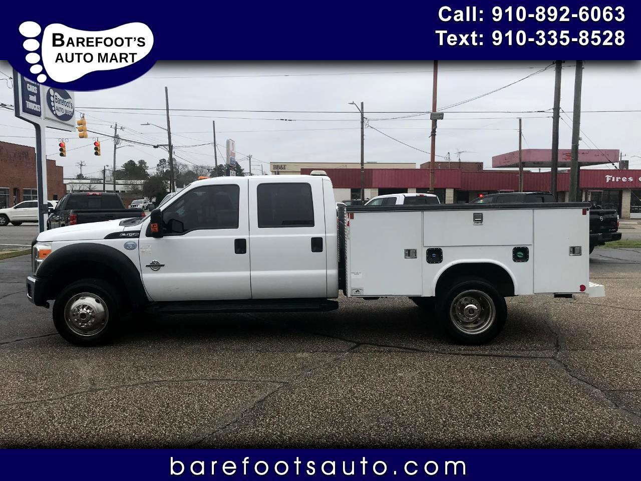 Ford F-450 SD Crew Cab DRW 4WD 2014