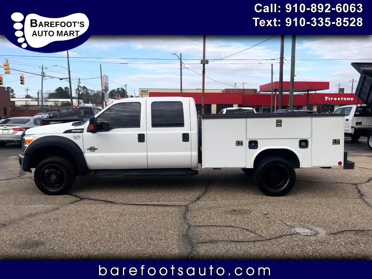 "Ford Super Duty F-450 DRW 4WD Crew Cab 200"" WB 84"" CA XL 2016"