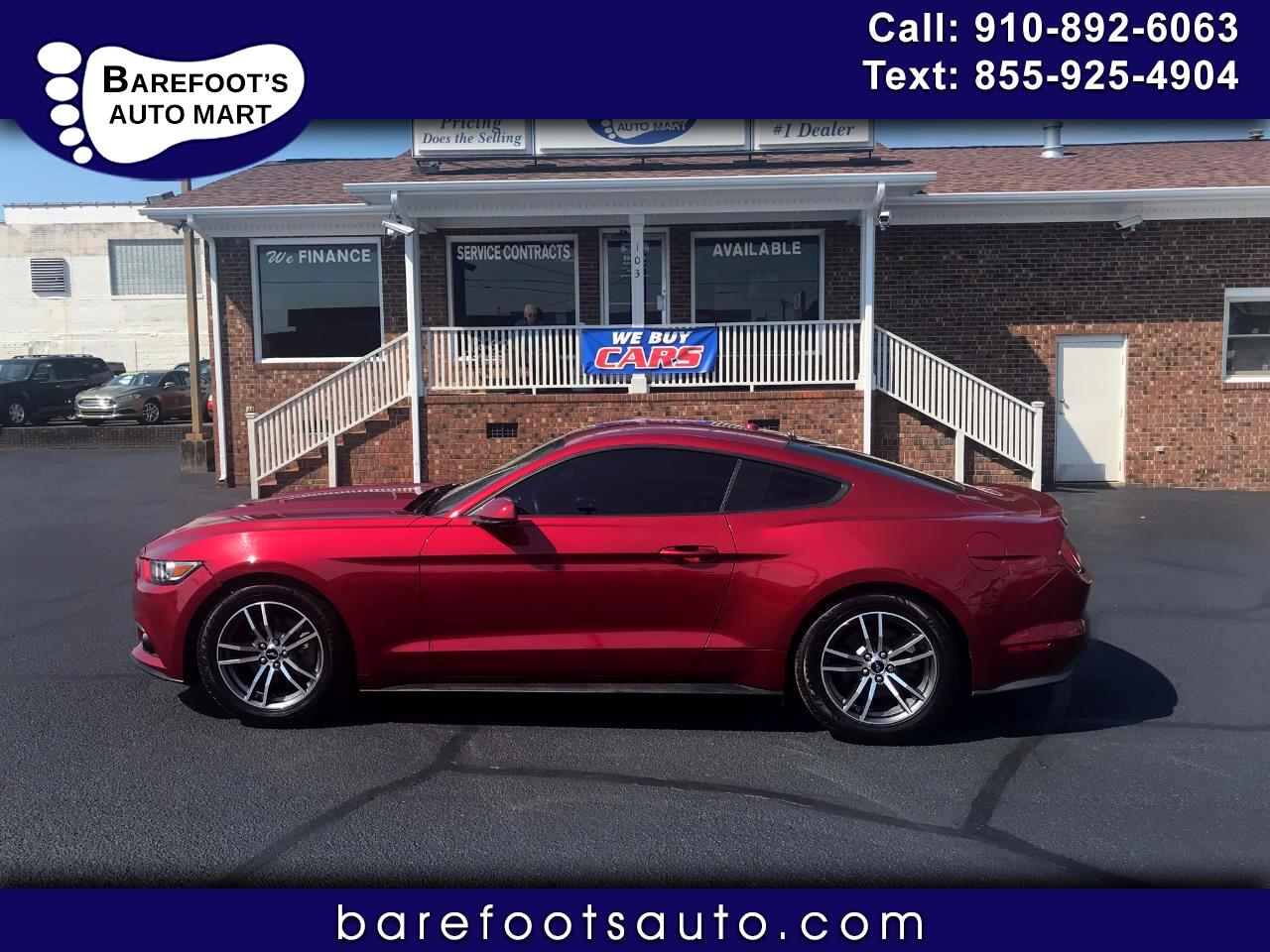 Ford Mustang EcoBoost Premium Fastback 2017