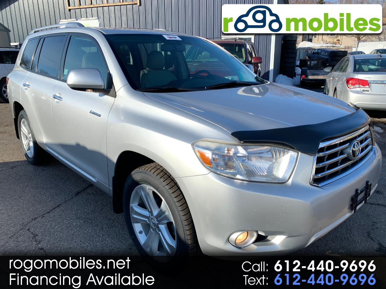 Toyota Highlander 4WD 4dr V6  Limited (Natl) 2010