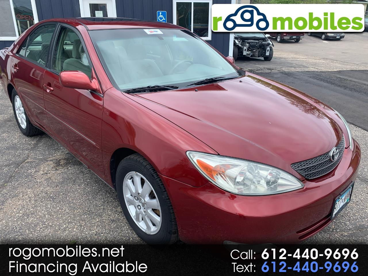 Toyota Camry 4dr Sdn I4 Auto XLE (Natl) 2003