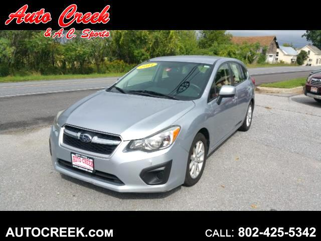 2014 Subaru Impreza 2.0i Premium 5-Door w/All Weather Package