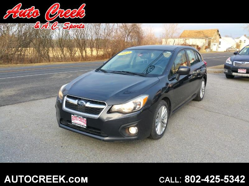 2012 Subaru Impreza Limited 5-Door+S/R