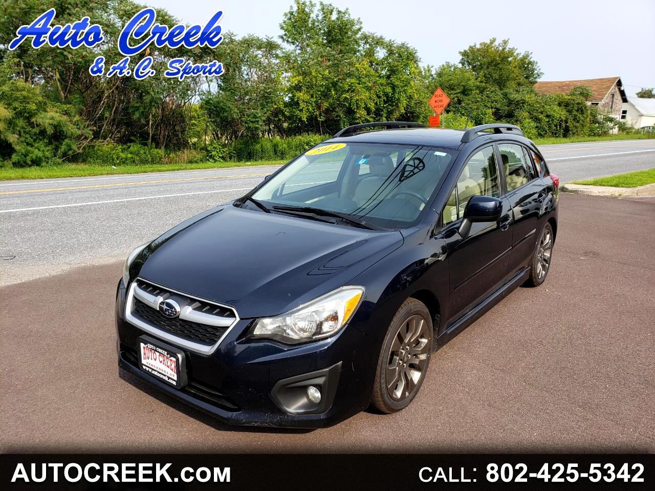 Subaru Impreza Sport 5-Door-Limited+S/R 2014