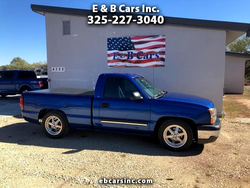"""2004 Chevrolet Silverado 1500 2WD Reg Cab 119.0"""" LS"""