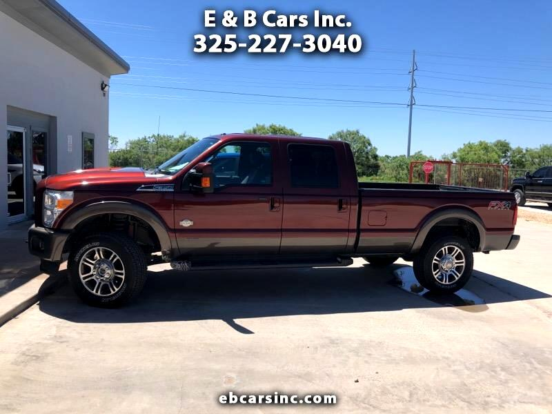 "2016 Ford Super Duty F-350 SRW Crew Cab 156"" King Ranch 4WD"