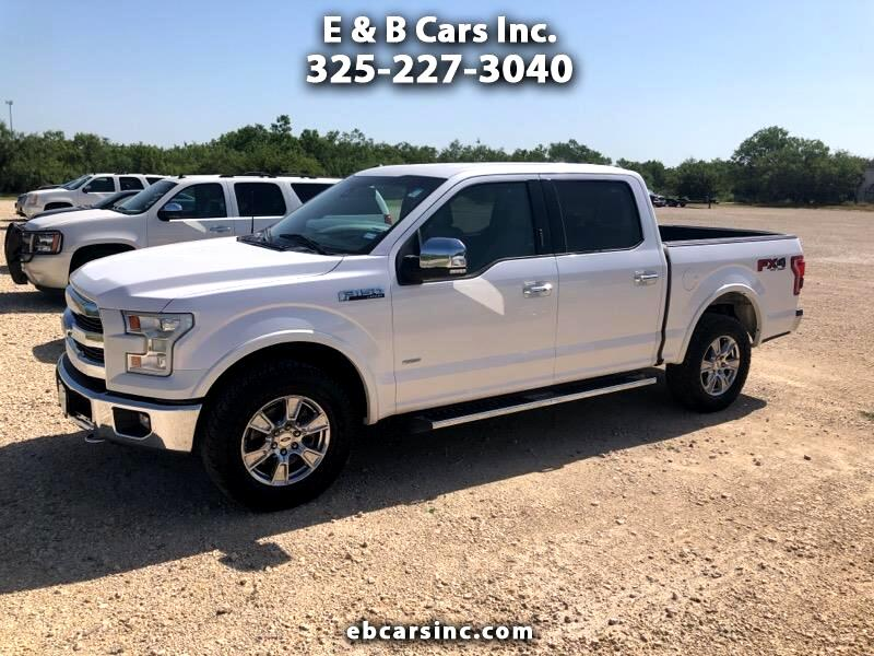 "2016 Ford F-150 4WD SuperCrew 150"" Lariat"
