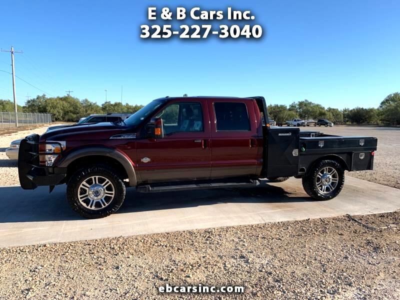 Ford F-350 SD King Ranch Crew Cab 4WD DRW 2016