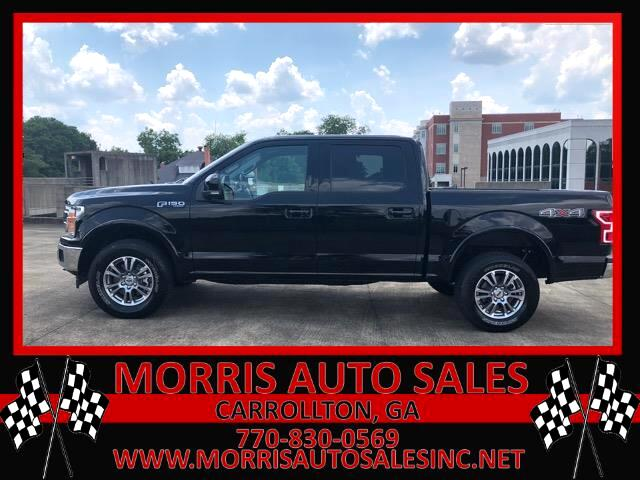2018 Ford F-150 Lariat SuperCab 5.5-ft. Bed 4WD
