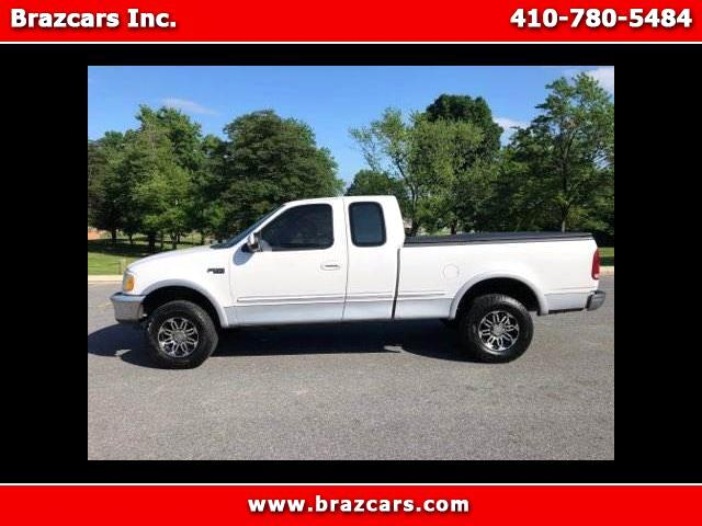 "1997 Ford F-150 4WD SuperCrew 139"" Lariat"