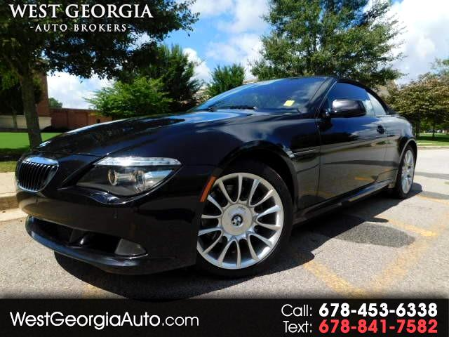 2010 BMW 6 Series 650i Convertible