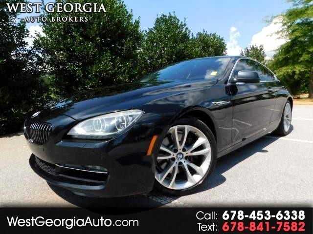 2012 BMW 6 Series 640i Coupe