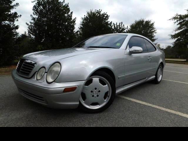 2002 Mercedes-Benz CLK-Class CLK55 AMG Coupe