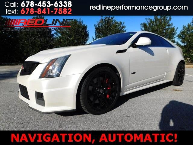 Cadillac CTS V Coupe 2012