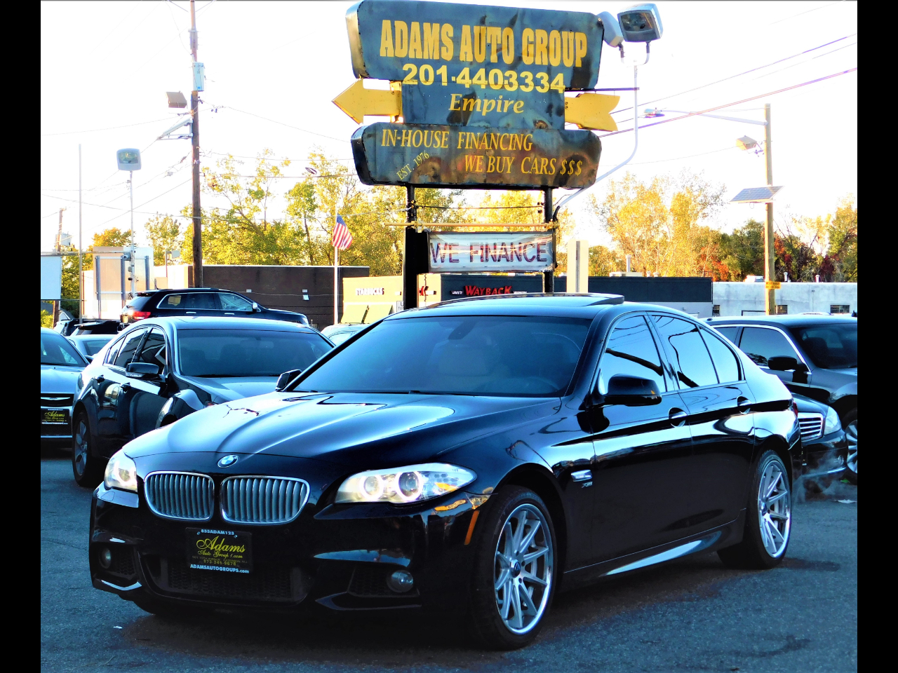 2012 BMW 5-Series //M Pck