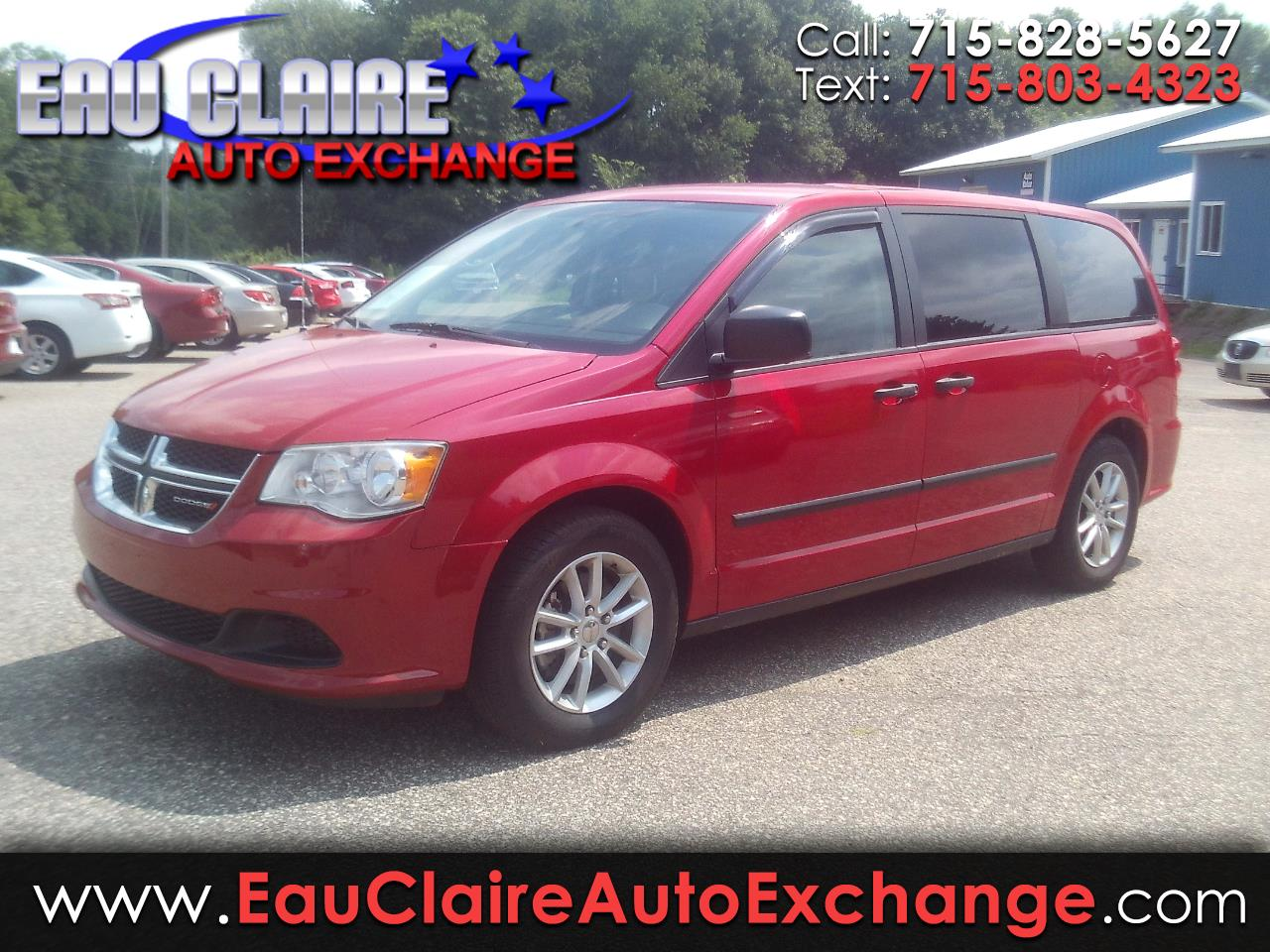 2013 Dodge Grand Caravan 4dr Wgn American Value Pkg