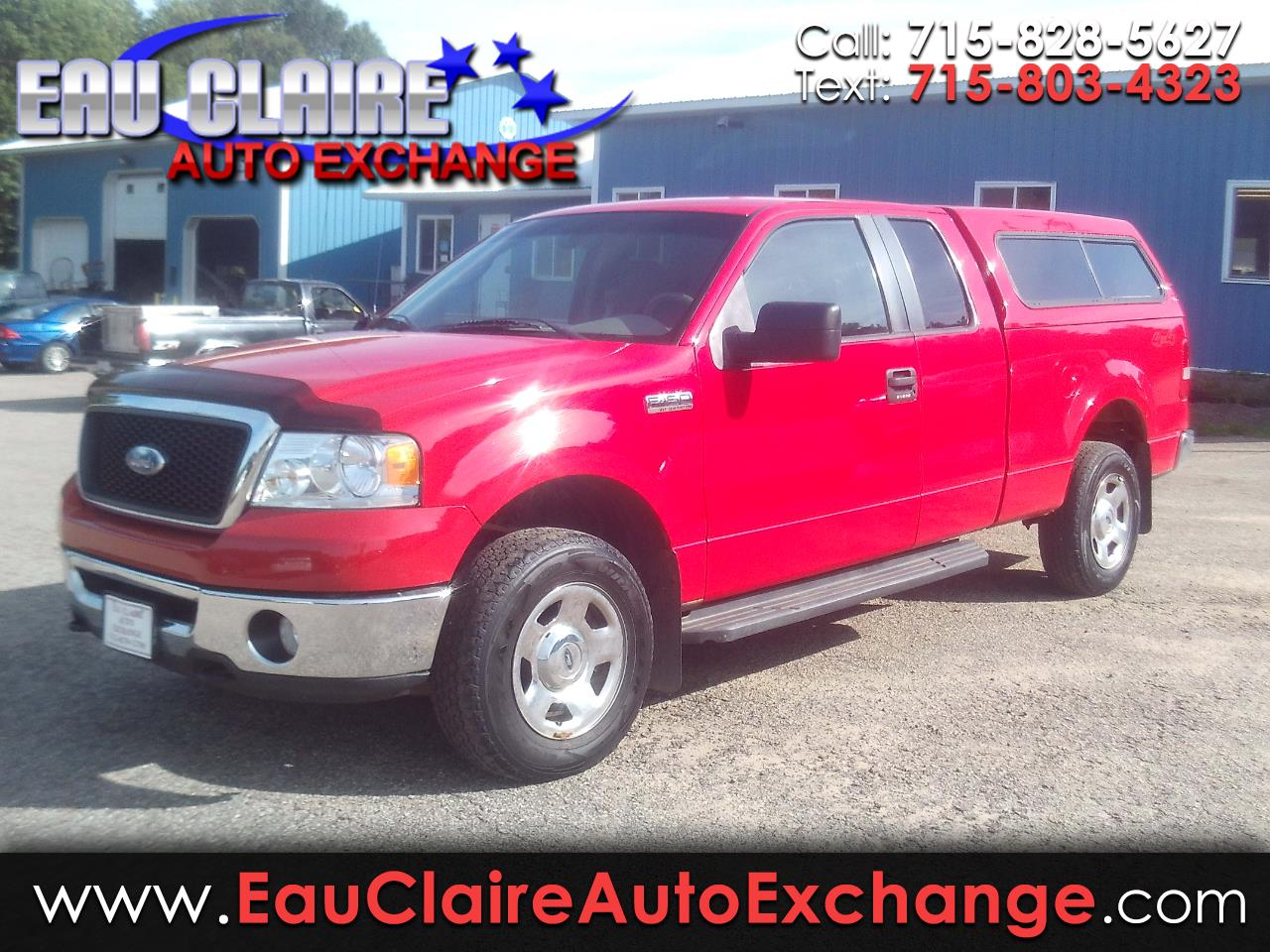 "Ford F-150 4WD SuperCab 133"" Lariat 2007"
