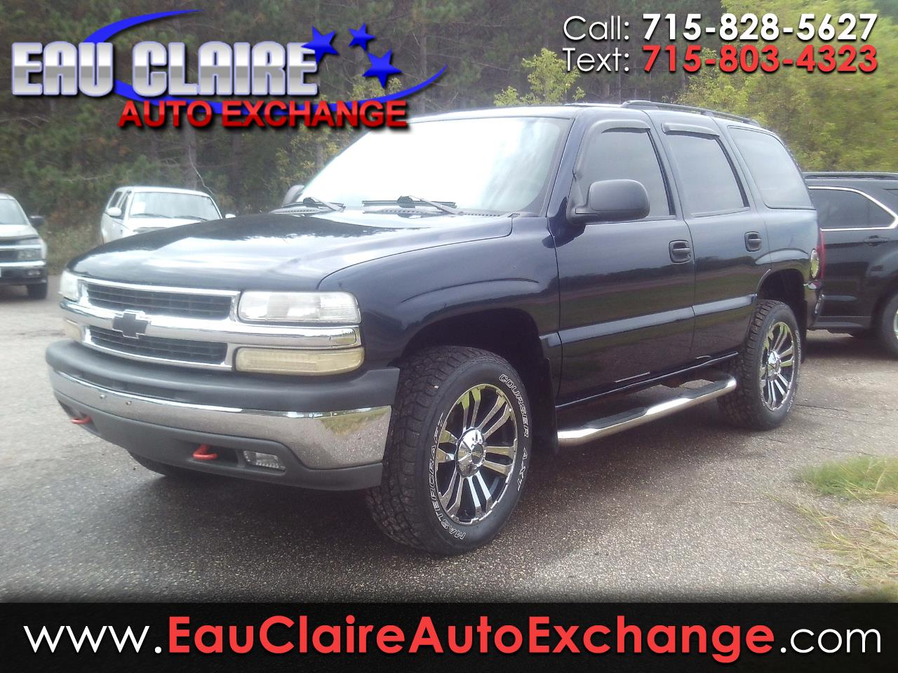 2005 Chevrolet Tahoe Special Service Veh 4dr 4WD