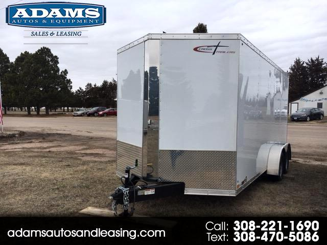 2020 Cross Trailers 7x16 Ramp Door 716TA