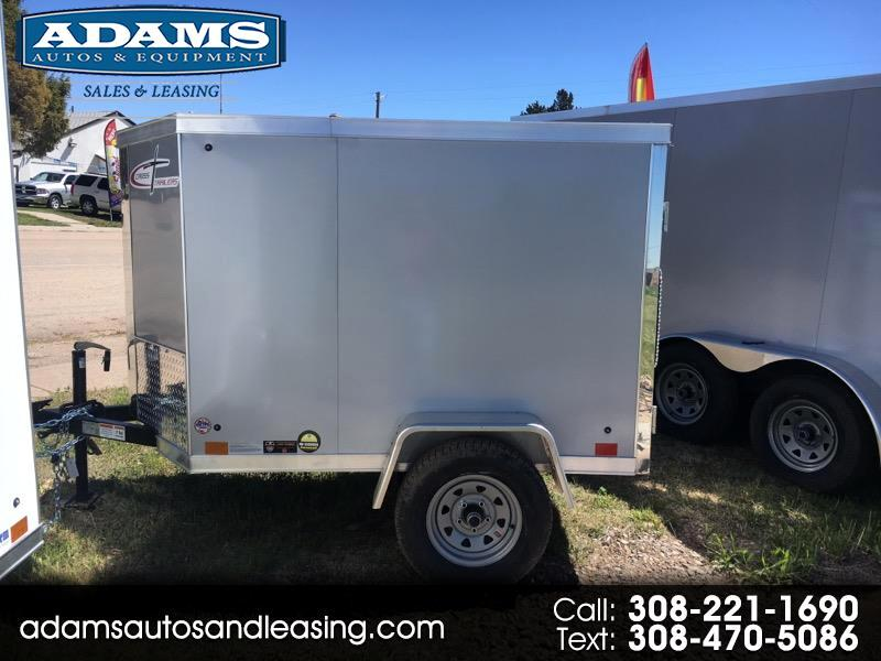 2020 Cross Trailers 4x6 Barn Door 46SA