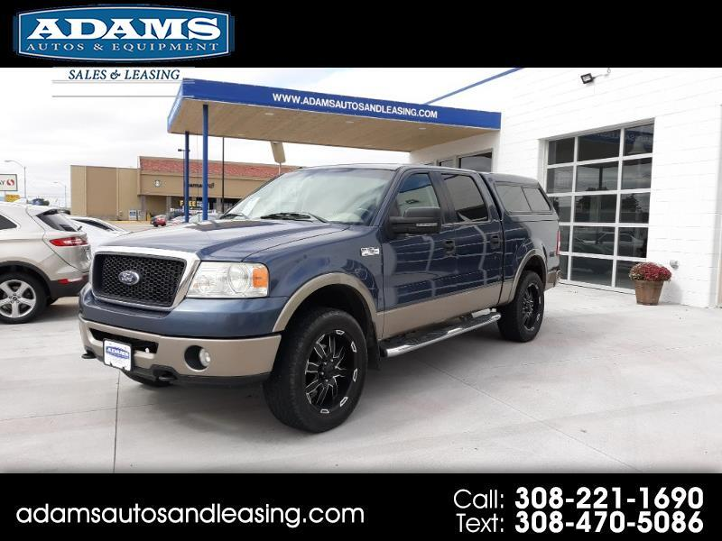 "2006 Ford F-150 SuperCrew 139"" Lariat 4WD"