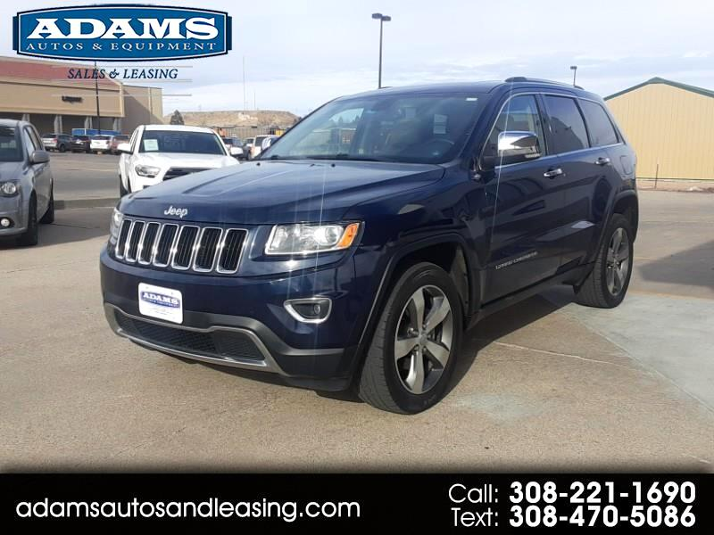 Jeep Grand Cherokee Limited 4D SUV 4WD 2014