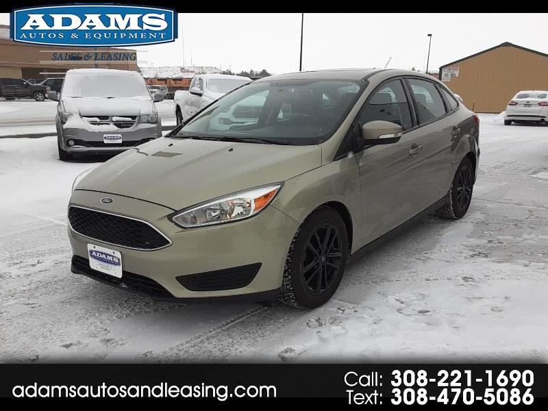 Ford Focus SE 4D Sedan 2016