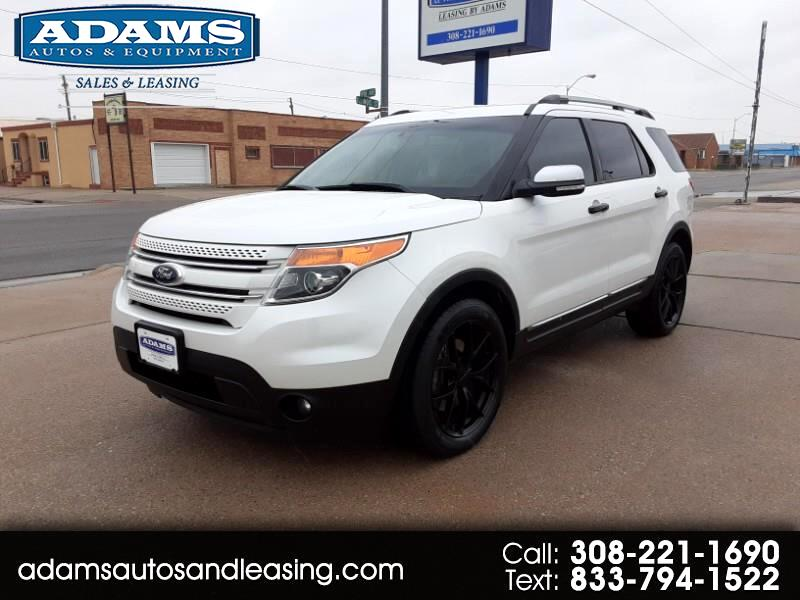 Ford Explorer Limited 4D SUV 4WD 2013