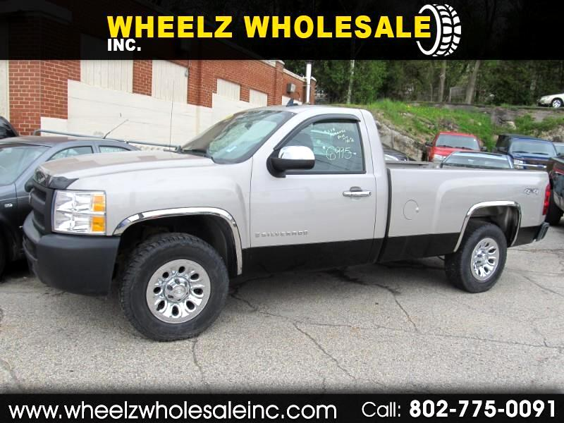2009 Chevrolet Silverado 1500 Work Truck Long Box 4WD