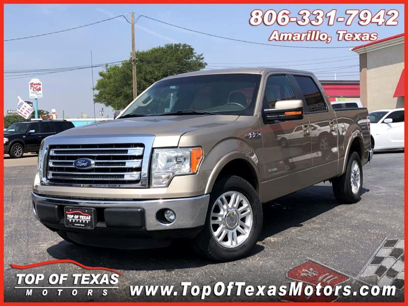 Ford F-150 Lariat SuperCrew 5.5-ft. Bed 2WD 2013