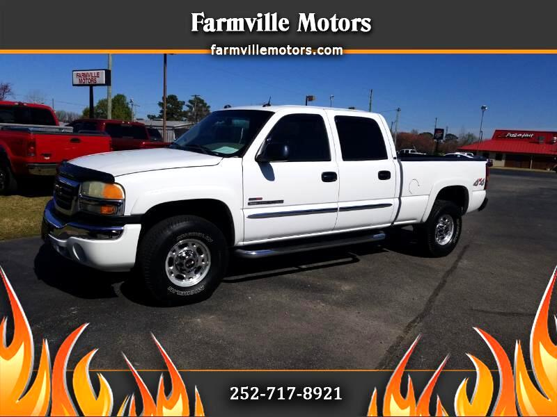 GMC Sierra 2500HD Crew Cab Short Bed 4WD 2005