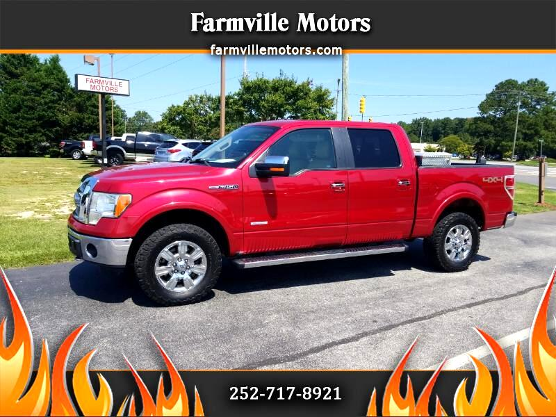 Ford F-150 Lariat SuperCrew Short Bed 4WD 2011