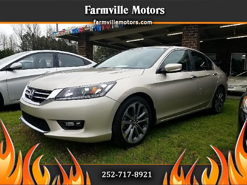 Honda Accord Sedan Sport Sedan CVT 2014