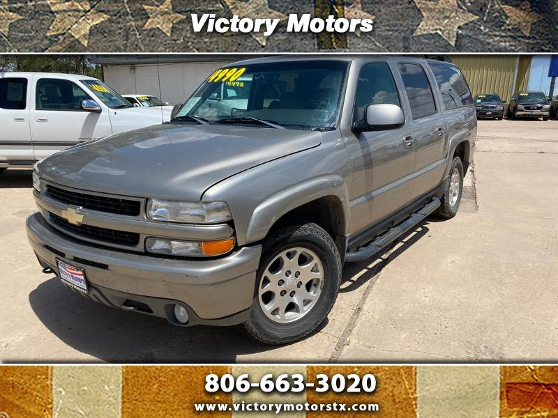 used 2003 chevrolet suburban 1500 4wd for sale in pampa tx 79065 victory motors victory motors
