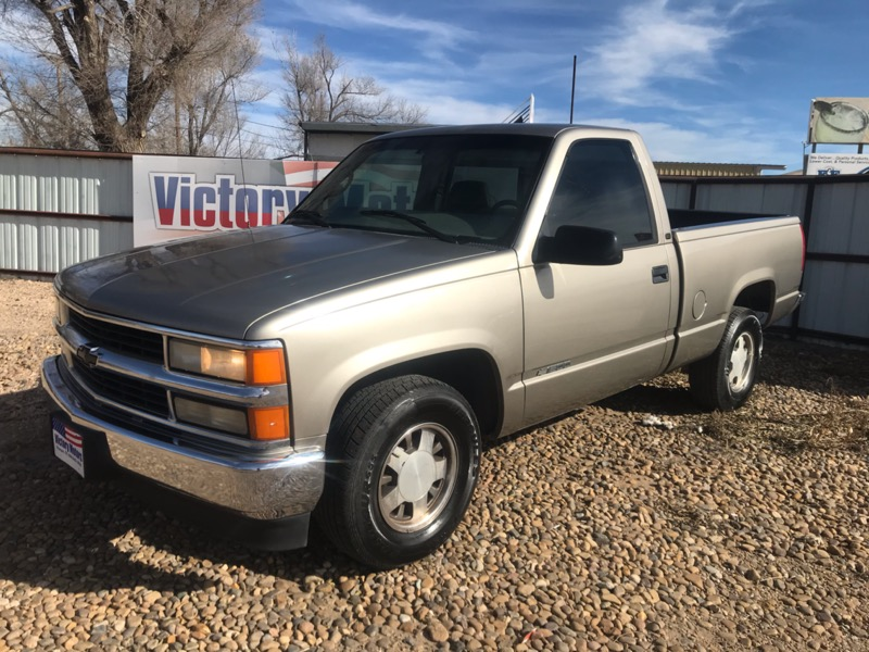 1998 Chevrolet C/K 1500 Reg. Cab W/T 6.5-ft. bed 2WD
