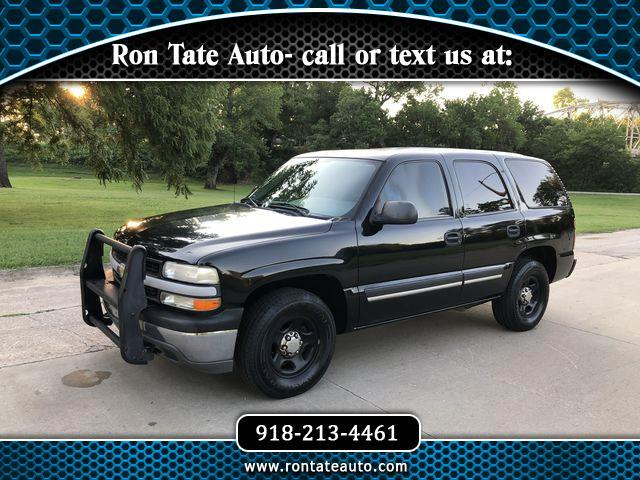 2006 Chevrolet Tahoe police pursuit pkg RWD