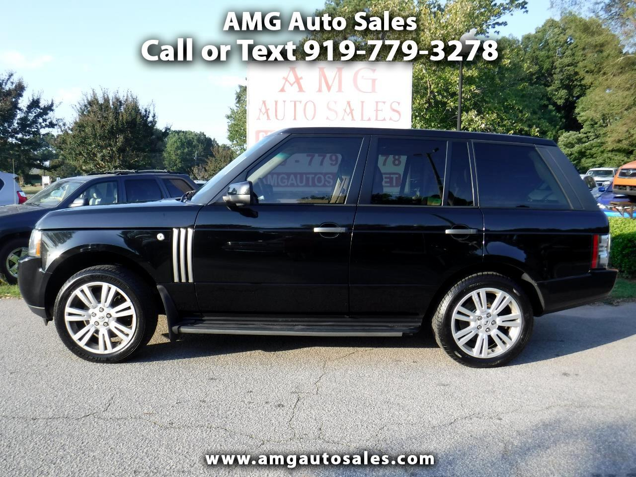Used 2010 Land Rover Range Rover Hse For Sale In Raleigh Nc 27603