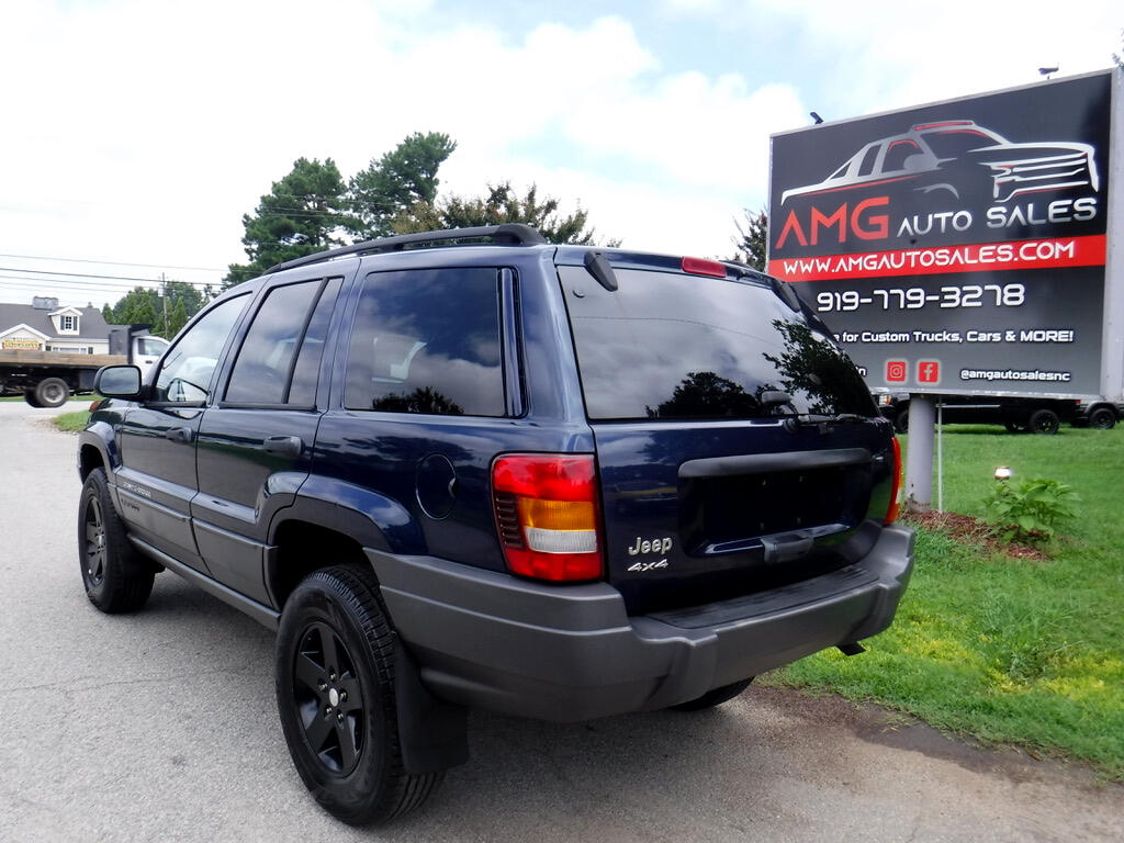 used 2002 jeep grand cherokee laredo 4wd for sale in raleigh nc 27603 amg auto sales 2002 jeep grand cherokee laredo 4wd
