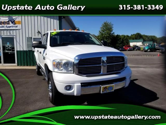 2008 Dodge Ram 3500 Laramie Quad Cab Short Bed 4WD