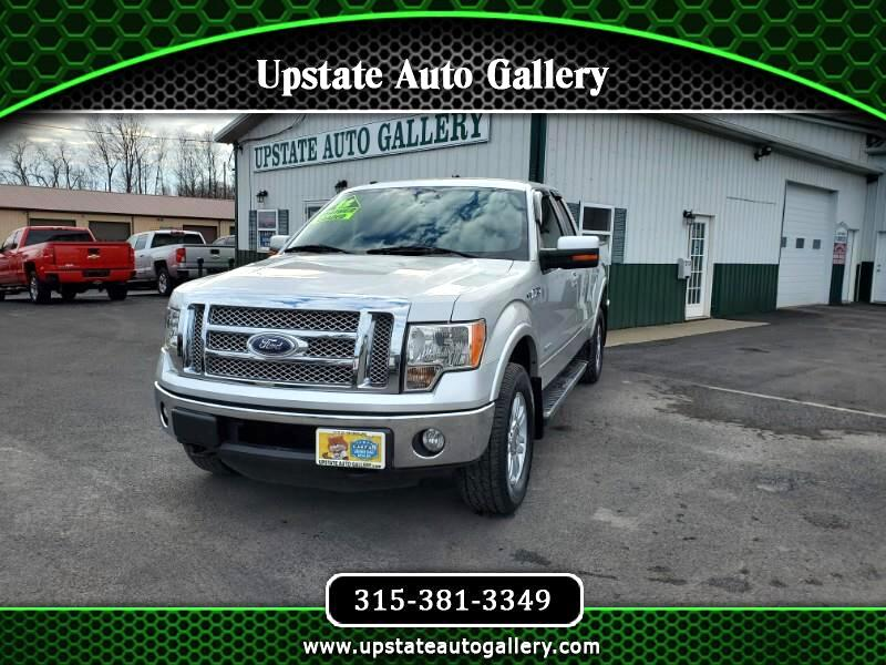 Ford F-150 Lariat SuperCab 6.5-ft. Bed 4WD 2012