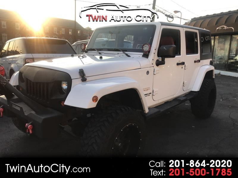 2012 Jeep Wrangler 4WD 4dr Unlimited Sahara