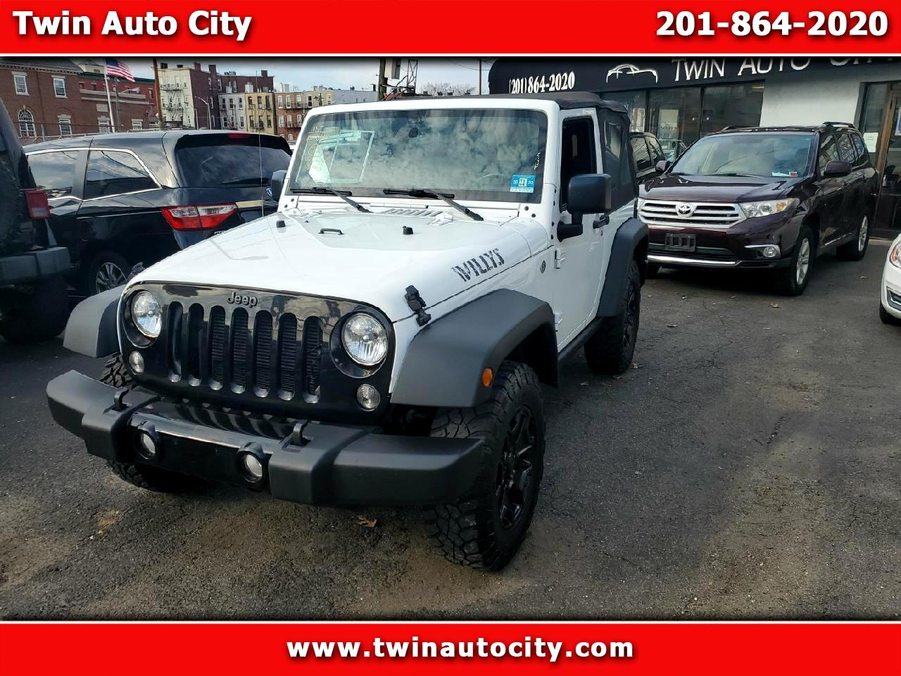 Jeep Wrangler 4WD 2dr Willys Wheeler 2015