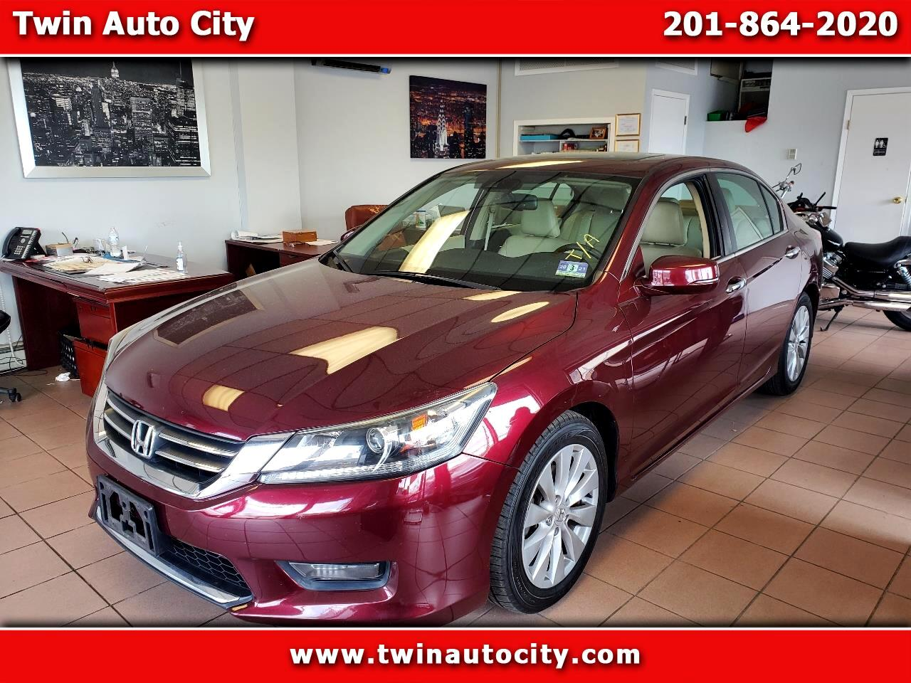 Honda Accord Sedan 4dr I4 CVT EX-L 2014